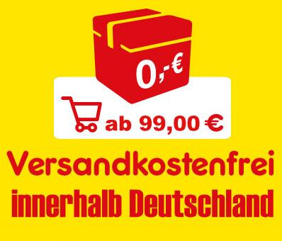 Zur Zeit liefern wir ab 60 EUR Versandkostenfrei (Deutschlandweit)