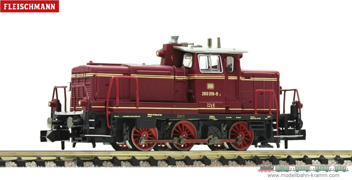 N Diesellokomotive Baureihe 260, DB, Epoche IV