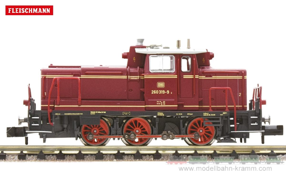 N Diesellokomotive BR 260, DB, Epoche IV, mit DCC-Digitaldecoder