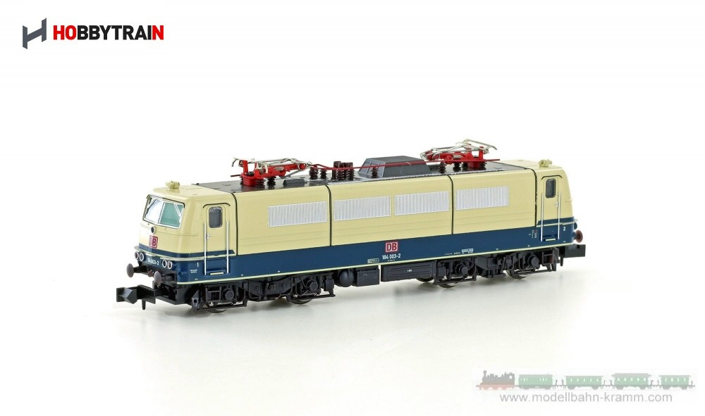 N E-Lok BR 184 003-2 Museumlok der DB , Epoche V, in blau/beige