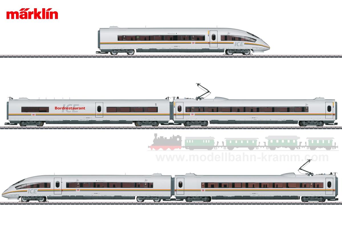 H0 Sound, E-Triebwagenzug ICE 3 Railbow ICE, 5-teilig DBAG