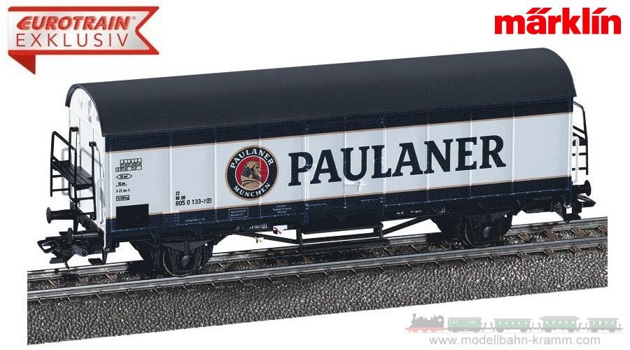 H0 Kühlwagen Paulaner mit Beeisungsöffnung der DB AG