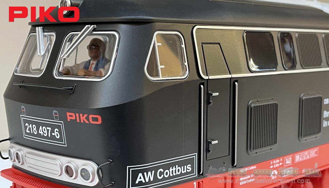 G analog Diesellok BR 218 Cottbus