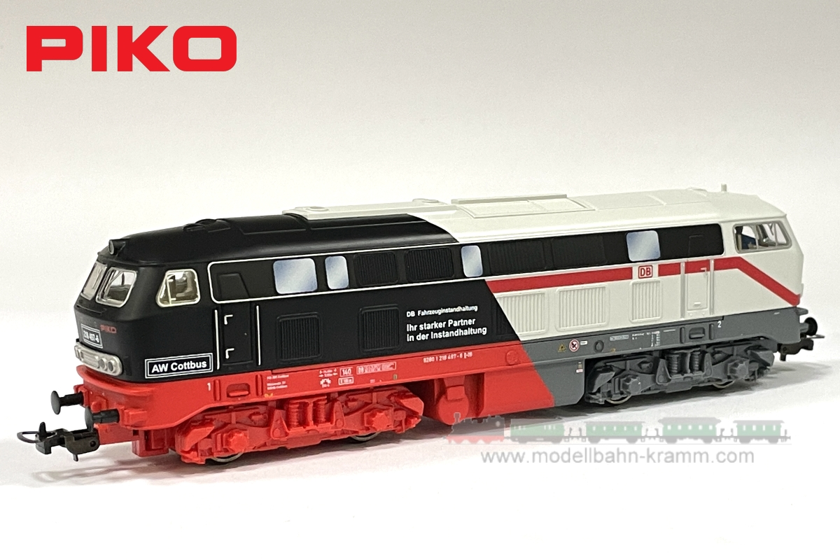 H0 analog Diesellok BR 218 Cottbus