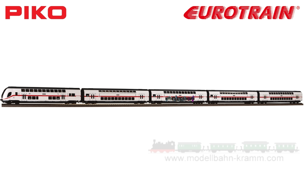 H0 DC Wagenset 5-teilig IC 2442 Köln, DB AG, Epoche VI