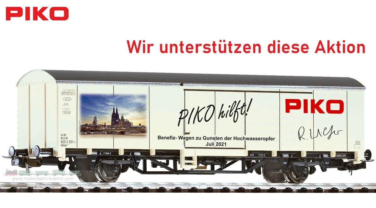 H0 PIKO Benefizwagen Unwetter Katastrophe 2021 DB AG VI