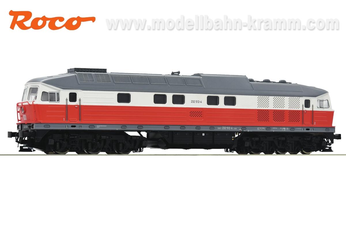 H0 AC Sound Diesellok 232 512-4 der Deutschen Bahn AG