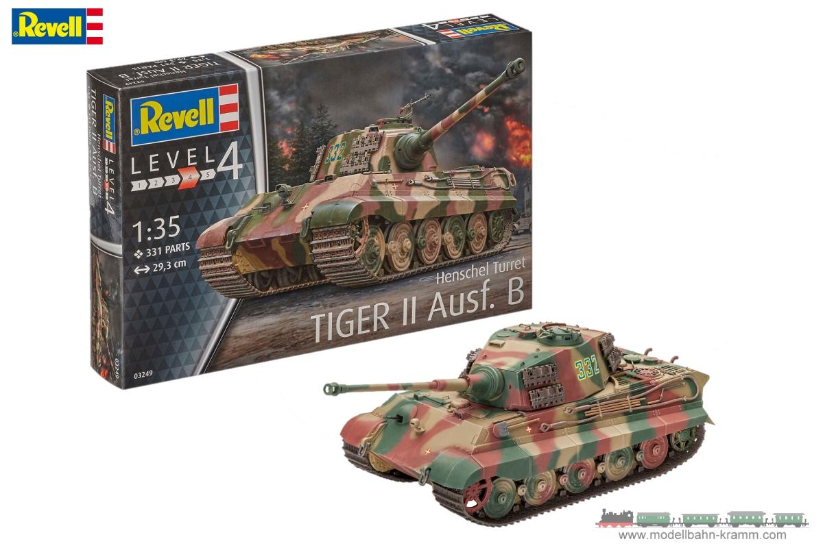 1:35 Tiger II Ausf.B Henschel