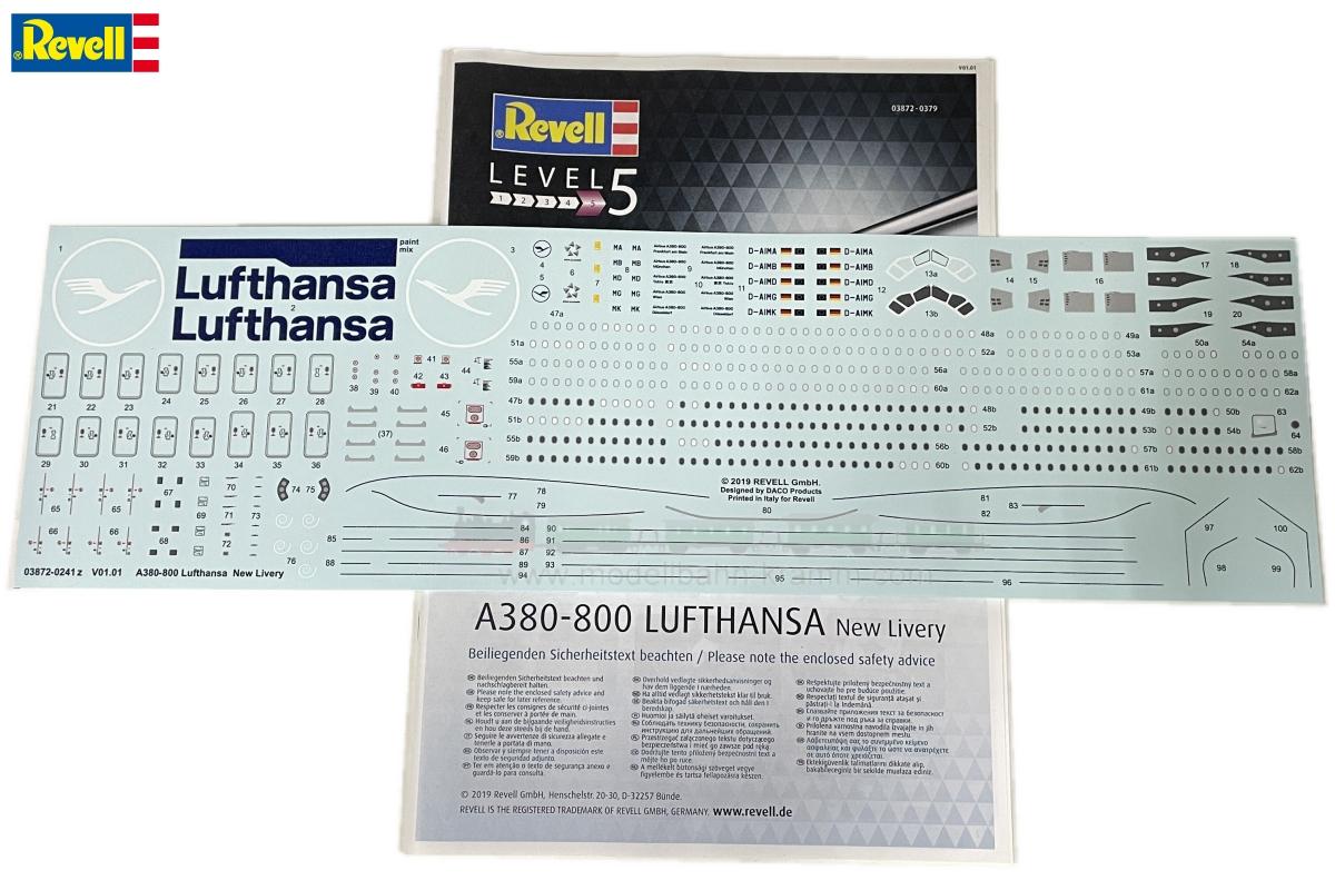 1:144, Airbus A380-800 Lufthansa